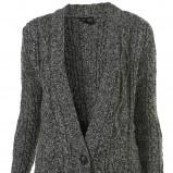 popielaty sweter Topshop - jesień-zima 2010/2011