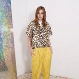 prosta bluzeczka Stella McCartney w kolorze żółtym - kolekcja na wiosnę i lato 2013