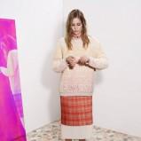 prosta spódnica Stella McCartney w szkocką kratkę - wiosna i lato 2013