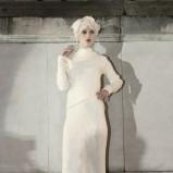 prosta suknia ślubna w stylu retro Gosia Baczyńska