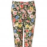 proste spodnie Topshop w kwiaty - kolekcja dla kobiet 2012/13