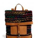 prostokątny plecak Asos w kolorze brązowym - mode dodatki