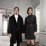 prosty płaszczyk Chloe w kolorze czarnym - trendy na jesień 2013