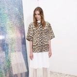 prześwitująca spódniczka Stella McCartney w kolorze białym - kolekcja na wiosnę i lato 2013