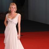 romantyczna sukienka w kolorze białym - Diane Kruger