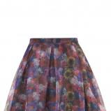 rozkloszowana spódnica Topshop w kwiaty - modne spódniczki