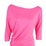 różowa bluzeczka Stefanel - neony