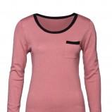 różowa bluzka New Yorker - sezon jesienno-zimowy