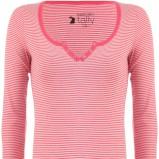 różowa bluzka Tally Weijl w paski - wiosna-lato 2012