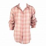 różowa koszula Jackpot w kratkę - z kolekcji jesień-zima
