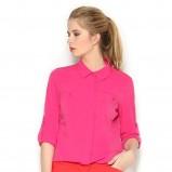 różowa koszula Orsay - trendy na wiosnę