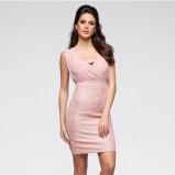 Różowa krótka sukienka, cena 119.99 zł
