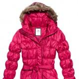 różowa kurtka Reserved pikowana - sezon jesienno-zimowy