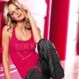 różowa piżama Victorias Secret z nadrukiem - wiosna/lato 2012