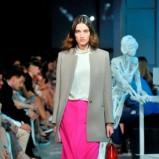 różowa spódnica Deni Cler - kolekcja na sezon jesień-zima 2013/2014