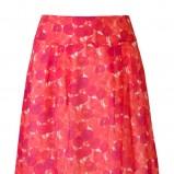 różowa spódnica Molton w kwiaty - wiosna/lato 2011