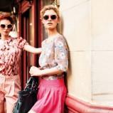 różowa spódnica TK Maxx - wiosenna kolekcja