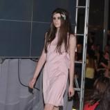 różowa sukienka Gosia Baczyńska - moda 2011