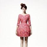 różowa sukienka H&M - wiosna/lato 2011