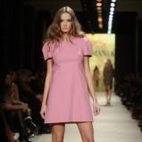 różowa sukienka La Mania - wiosna/lato 2012