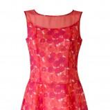 różowa sukienka Molton w kwiaty - wiosna/lato 2011