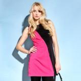 różowa sukienka Monnari - moda na lato