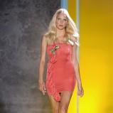 różowa sukienka Patrizia Pepe - wiosna/lato 2011