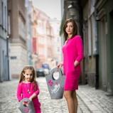 różowa sukienka SmallBig