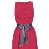 różowa sukienka Top Secret - wiosna/lato 2012