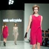 różowa sukienka Wioletta Wołczyńska - moda wiosna/lato