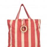 różowa torba H&M - letnia kolekcja