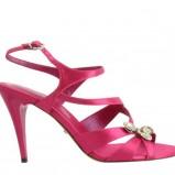 różowe sandały Menbur