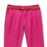 różowe spodnie Mohito - sezon wiosenno-letni