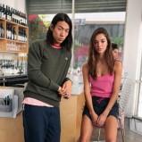 różowy na ramiączkach top Adidas - lato 2013