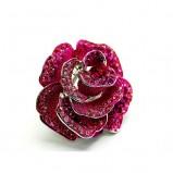 różowy pierścionek Me'amoore z kwiatem - wiosna/lato 2011