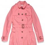 różowy płaszcz C&A z guzikami - wiosna/lato 2012