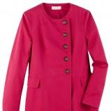różowy płaszcz Camaieu - lato 2012