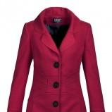 różowy płaszcz Makalu - moda jesień/zima