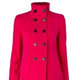 różowy płaszcz Mango - jesień/zima 2011/2012