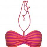 różowy strój kąpielowy Kappahl w paski - kolekcja na lato