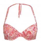 różowy strój kąpielowy Kappahl we wzory - moda 2011