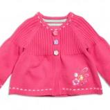 różowy sweter KappAhl krótki - z kolekcji wiosna-lato 2012