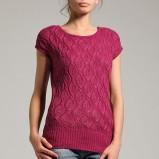 różowy sweter Orsay - jesień/zima 2011/2012