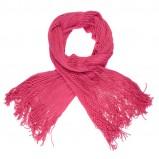 różowy szalik Cropp - moda zimowa