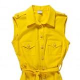 rozpinana sukienka Bialcon w kolorze złotym - lato 2013