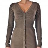 rozpinany sweter Grey Wolf w kolorze brązowym - kolekcja damska