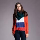 rozpinany sweter Moodo w kolorze pomarańczowym  - sezon 212/13