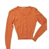 rozpinany sweterek Bialcon w kolorze pomarańczowym - lato 2013