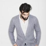 rozpinany sweterek ZARA w kolorze szarym - kolekcja dla mężczyzn