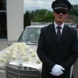 Samochód do ślubu Szczecin Mercedes w108